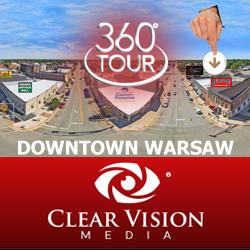 VPiX Virtual Tour | Downtown Warsaw 360-Degree Virtual Tour